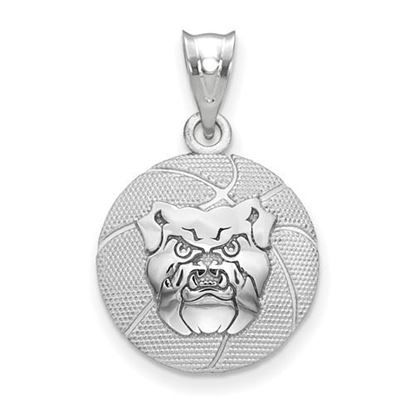 Picture of Butler University Bulldogs Sterling Silver Basketball Pendant