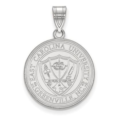 Picture of East Carolina University Pirates Sterling Silver Large Crest Pendant