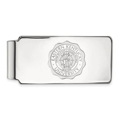 Picture of Eastern Kentucky University Pirates Sterling Silver Crest Money Clip