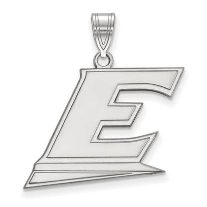 Picture of Eastern Kentucky University Pirates Sterling Silver Large Pendant