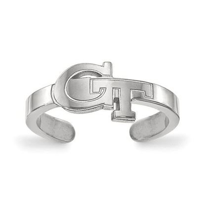 Picture of Georgia Tech Yellow Jackets Sterling Silver Toe Ring