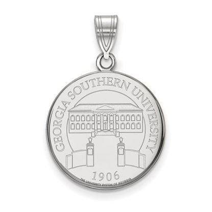 Picture of Georgia Southern University Eagles Sterling Silver Large Crest Pendant