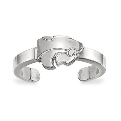 Picture of Kansas State University Wildcats Sterling Silver Toe Ring