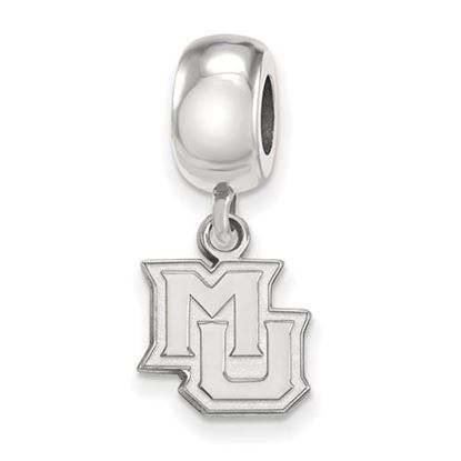 Picture of Marquette University Golden Eagles Sterling Silver Extra Small Bead Charm