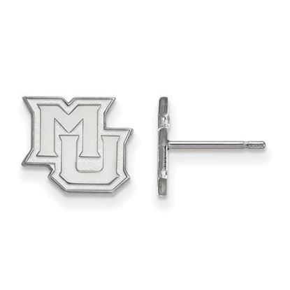 Picture of Marquette University Golden Eagles Sterling Silver Extra Small Post Earrings