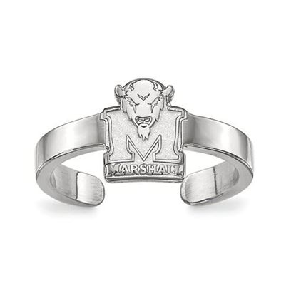 Picture of Marshall University Thundering Herd Sterling Silver Toe Ring