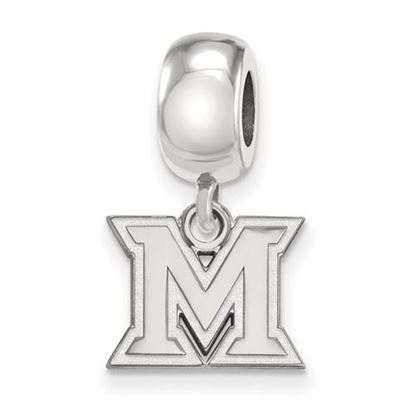 Picture of Miami University Redhawks Sterling Silver Extra Small Bead Charm