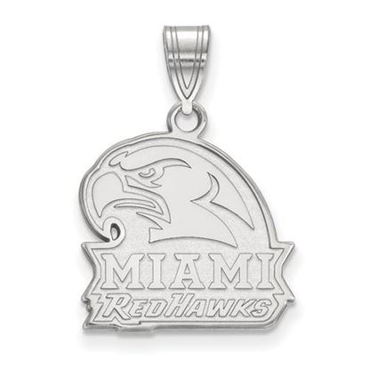 Picture of Miami University Redhawks Sterling Silver Medium Pendant