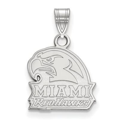 Picture of Miami University Redhawks Sterling Silver Small Pendant
