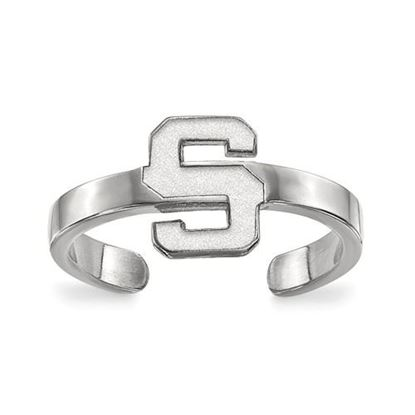 Picture of Michigan State University Spartans Sterling Silver Toe Ring