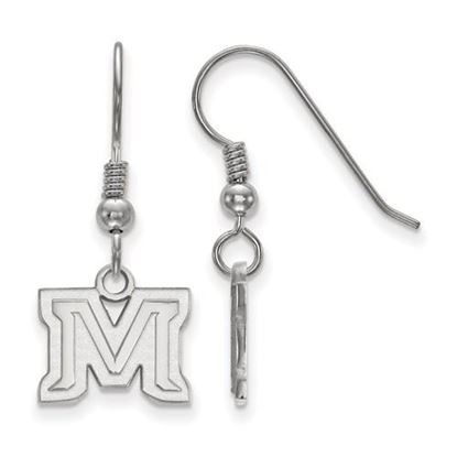 Picture of Montana State University Bobcats Sterling Silver Extra Small Dangle Earrings