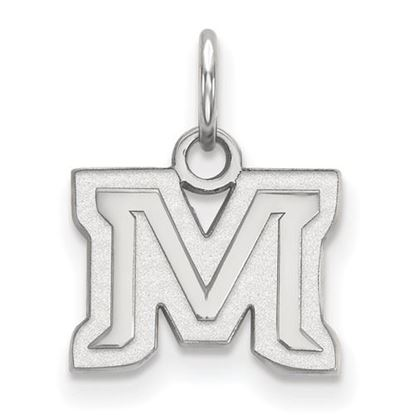 Picture of Montana State University Bobcats Sterling Silver Extra Small Pendant
