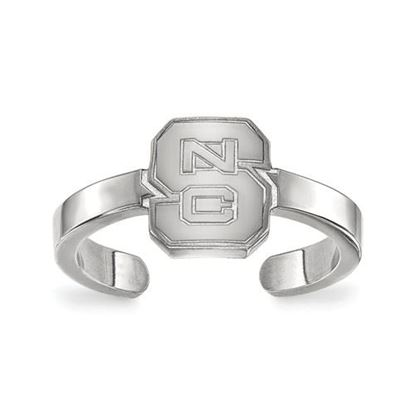 Picture of North Carolina State University Wolfpack Sterling Silver Toe Ring