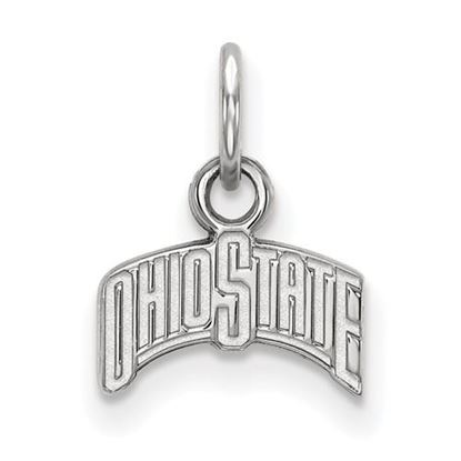 Picture of Ohio State University Buckeyes Sterling Silver Extra Small Pendant
