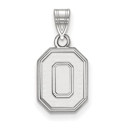Picture of Ohio State University Buckeyes Sterling Silver Small Pendant