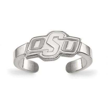 Picture of Oklahoma State University Cowboys Sterling Silver Toe Ring