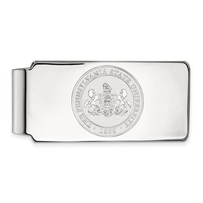Picture of Penn State University Nittany Lions Sterling Silver Crest Money Clip
