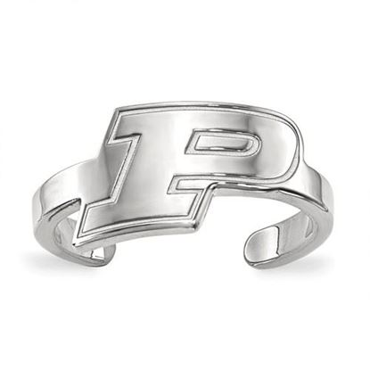 Picture of Purdue University Boilermakers Sterling Silver Toe Ring