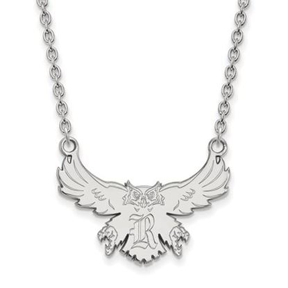 Picture of Rice University Owls Sterling Silver Large Necklace