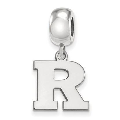 Picture of Rutgers University Scarlet Knights Sterling Silver Small Dangle Bead