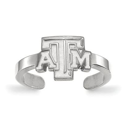 Picture of Texas A&M University Aggies Sterling Silver Toe Ring