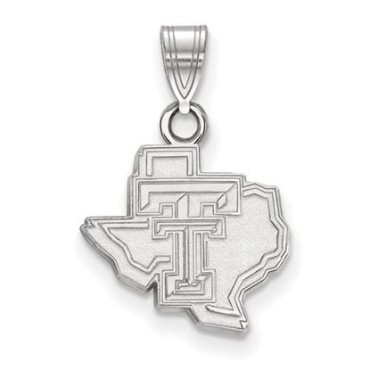 Picture of Texas Tech University Red Raiders Sterling Silver Small Pendant