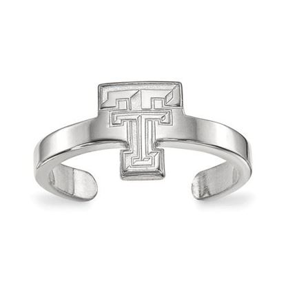 Picture of Texas Tech University Red Raiders Sterling Silver Toe Ring