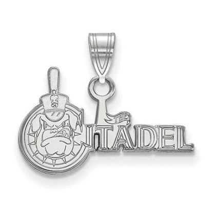 Picture of The Citadel Bulldogs Sterling Silver Small Pendant