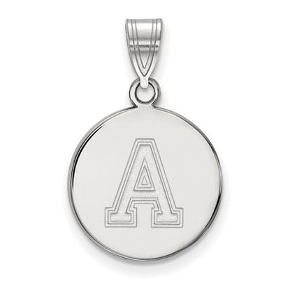 Picture of U.S. Military Academy Black Knights Sterling Silver Medium Disc Pendant