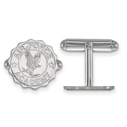 Picture of U.S. Air Force Academy Falcons Sterling Silver Crest Cuff Links