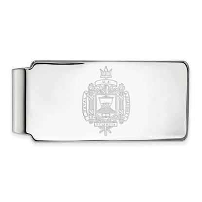 Picture of U.S. Naval Academy Midshipmen Sterling Silver Crest Money Clip