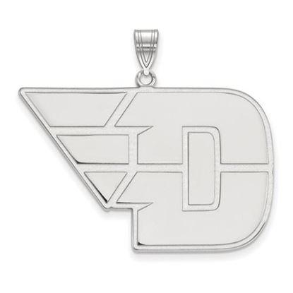 Picture of University of Dayton Flyers Sterling Silver Extra Large Pendant