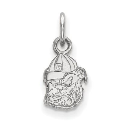 Picture of University of Georgia Bulldogs Sterling Silver Extra Small Pendant