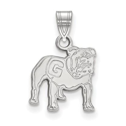 Picture of University of Georgia Bulldogs Sterling Silver Small Pendant