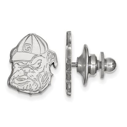 Picture of University of Georgia Bulldogs Sterling Silver Lapel Pin