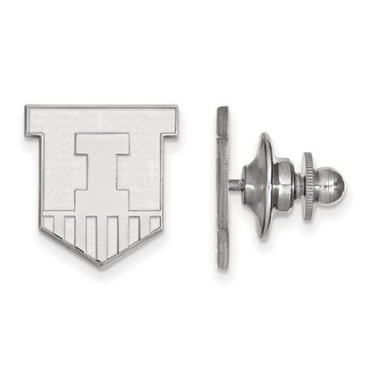 Picture of University of Illinois Fighting Illini Sterling Silver Lapel Pin