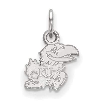 Picture of University of Kansas Jayhawks Sterling Silver Extra Small Pendant