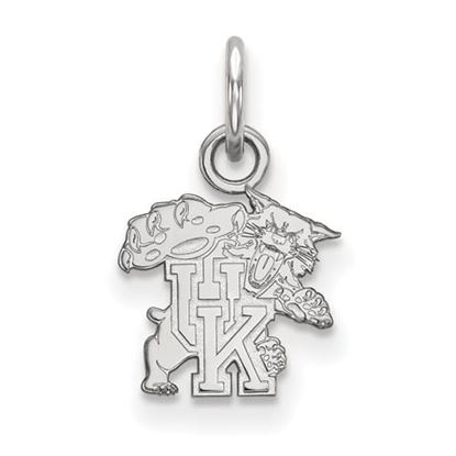 Picture of University of Kentucky Wildcats Sterling Silver Extra Small Pendant