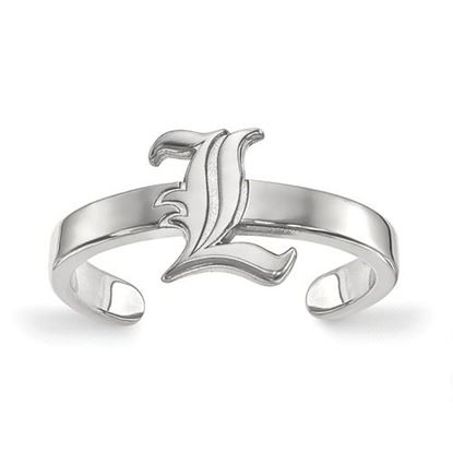 Picture of University of Louisville Cardinals Sterling Silver Toe Ring