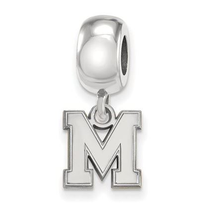 Picture of University of Memphis Tigers Sterling Silver Extra Small Bead Charm
