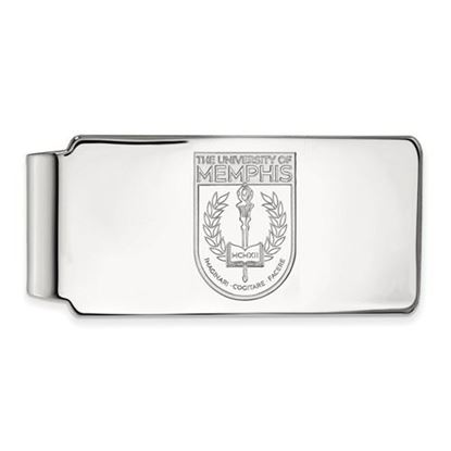 Picture of University of Memphis Tigers Sterling Silver Crest Money Clip