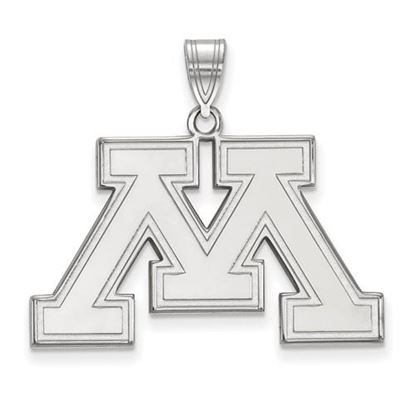 Picture of University of Minnesota Golden Gophers Sterling Silver Large Pendant