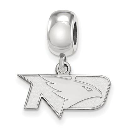 Picture of University of North Dakota Fighting Hawks Sterling Silver Extra Small Bead Charm