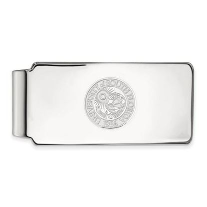Picture of University of South Florida Bulls Sterling Silver Crest Money Clip
