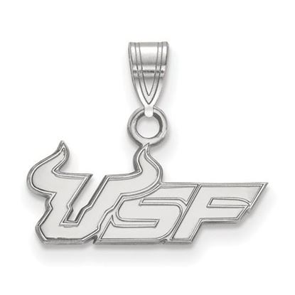 Picture of University of South Florida Bulls Sterling Silver Small Pendant