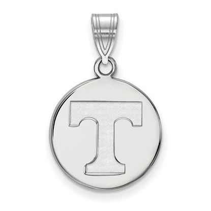 Picture of University of Tennessee Volunteers Sterling Silver Medium Disc Pendant