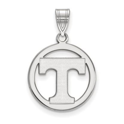 Picture of University of Tennessee Volunteers Sterling Silver Small Circle Pendant