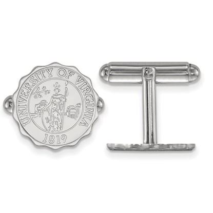 Picture of University of Virginia Cavaliers Sterling Silver Crest Cuff Links