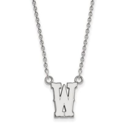 Picture of University of Wyoming Cowboys Sterling Silver Small Necklace