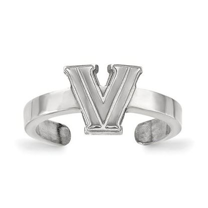 Picture of Villanova University Wildcats Sterling Silver Toe Ring